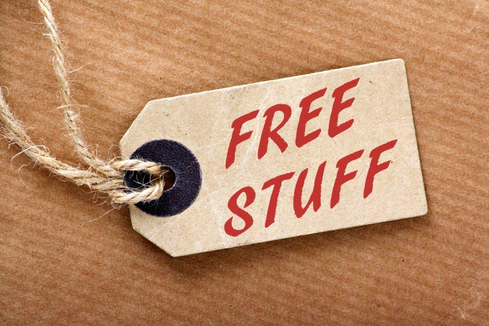 Intet er gratis i livet, eller er det?